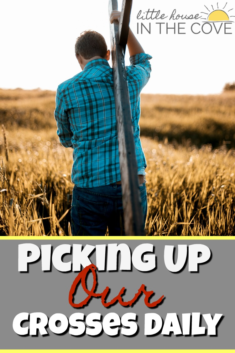 Picking up our cross daily means more than just reading our Bible. Here are some examples of how we should be picking up our crosses.