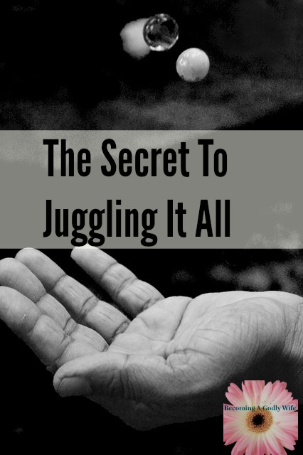 The Secret To Juggling It All