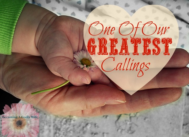 One Of The Greatest Callings