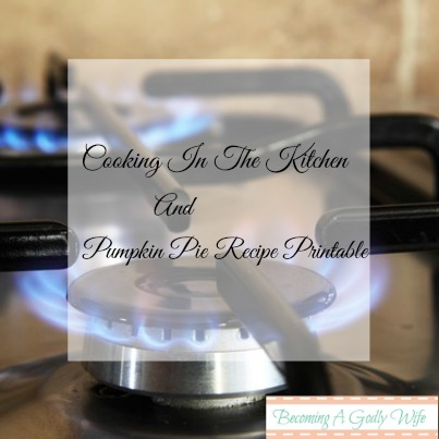 Cooking In The Kitchen & Salt & Light Link Up