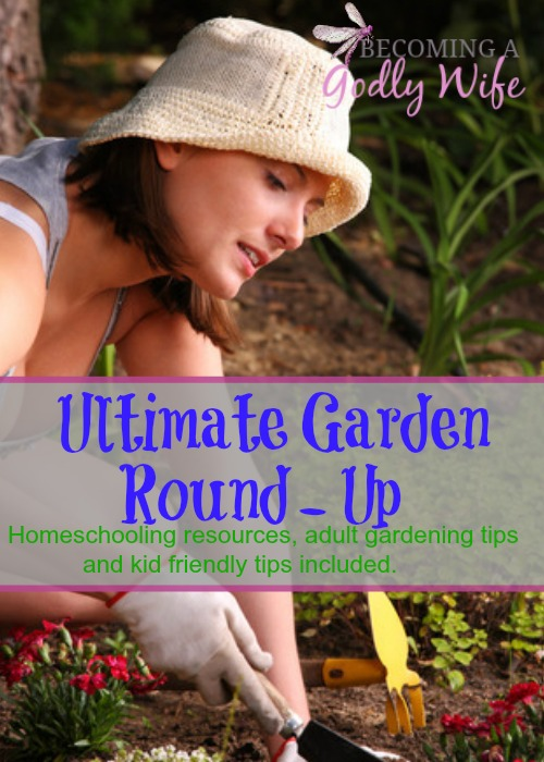 Here's an ultimate garden resource list and a glimpse of our garden. Here you will find Homeschooling resources, adult resources and tips.