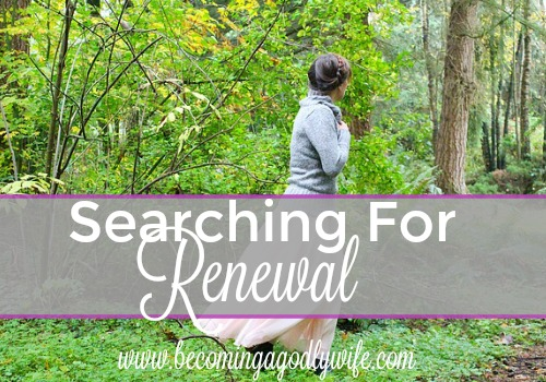 Searching for Renewal