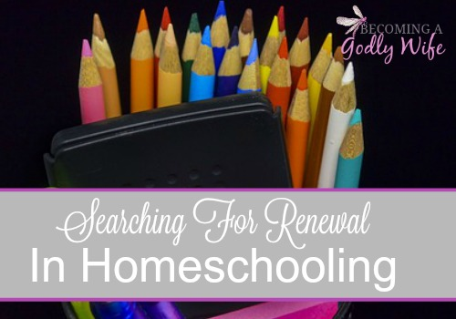 Searching for Homeschooling Renewal