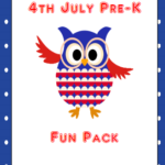 If you are looking for something simple, fun and festive for your young learner to do for 4th of July then you will love this packet. Inside there is a short matching game, counting activity and even alphabet tracing.