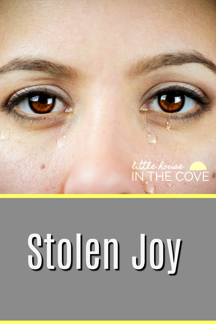 Isn't it amazing how we can allow our joy to be stolen so easily? Today I am talking about ways we can stop allowing our joy to be stolen.