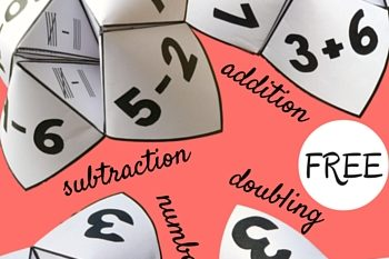 Cootie Catchers Math Games