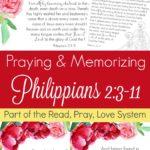 Thinking of Others (Praying and Memorizing Philippians 2:3-11)