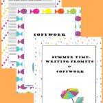 Summer Writing Pack