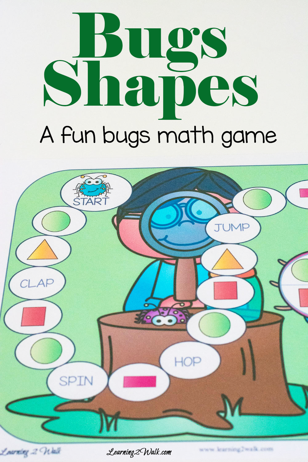 It is a proven fact that children learn best when they are having fun. Which is why games are such a great way to teach a new learning concept. Today's freebie find is no different. With this gem, learning shapes will be a breeze and also a lot of fun!