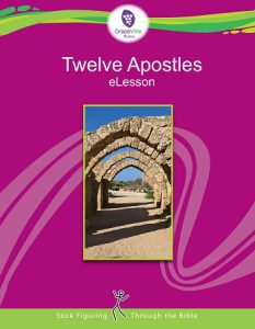 GrapeVineStudies has been an amazing asset to our Bible curriculum. It is always so versatileand easy to use for any age group. This month they are offering their study on the 12 Apostles for free!