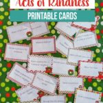 Act of Kindness Printable Cards