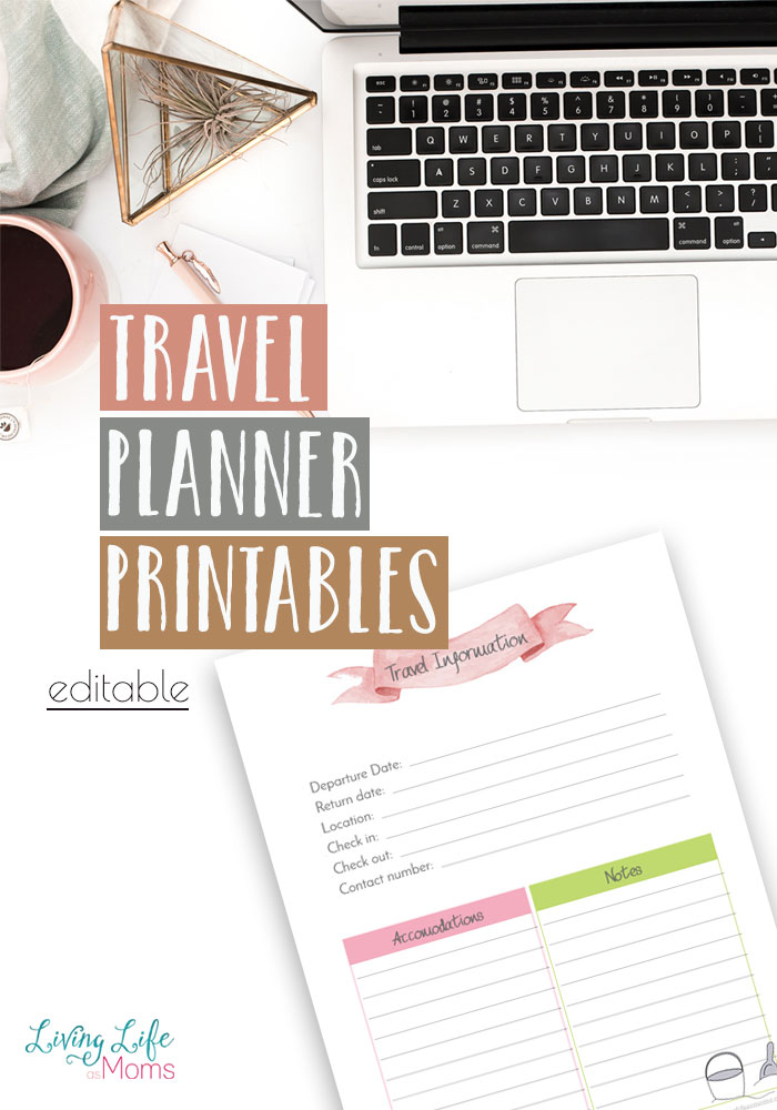 Are you planning on going on a trip? Do you need a place to map out all the arrangements? Is you answered yes then this is a printable that you will love! On this printable you will find a place to jot down all your next trips needs!